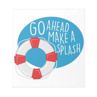 Make A Splash Notepads