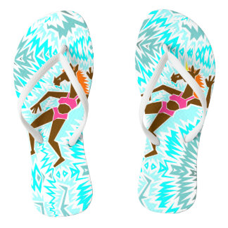 Make A Splash Unicorn Flip Flops