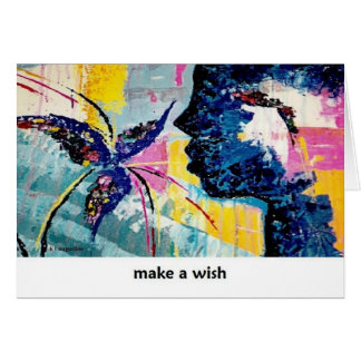 Make a Wish Art CArd by Augustine