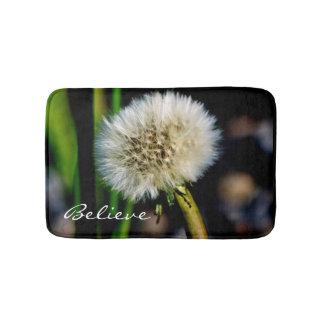 Make a Wish, Believe, Dandelion Bath Mat