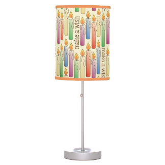 """Make a Wish"" Birthday Candles Lamp"