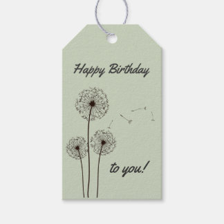 Make a Wish Birthday Gift Tags Pack Of Gift Tags