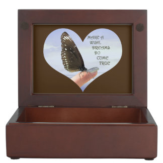 Make a wish Dreams come true Keepsake Boxes