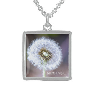 Make A Wish Sterling Silver Necklace