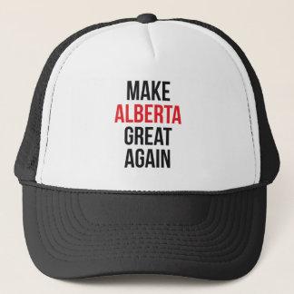 Make Alberta Great Again Canada First Flag #MCGA Trucker Hat