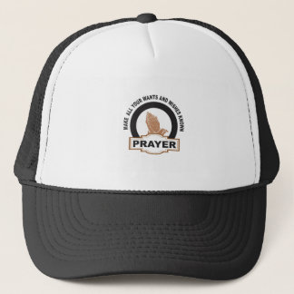 make all your wants and wishes known trucker hat
