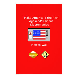 Make America 4 the Rich Again Stationery