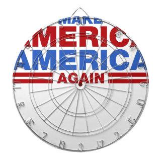 Make America America Again Dartboard