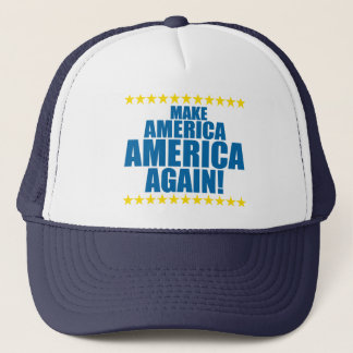 MAKE AMERICA AMERICA AGAIN! TRUCKER HAT