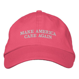 MAKE AMERICA CARE AGAIN - MACA EMBROIDERED HAT