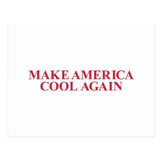 Make America Cool Again Postcard