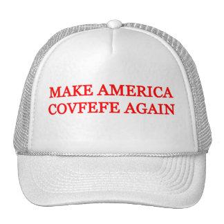 Make America Covfefe Again Trucker Hat