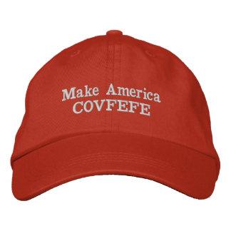 Make America COVFEFE hat