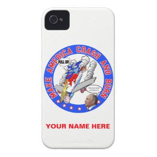 Make America Crash & Burn Case-Mate iPhone 4 Case