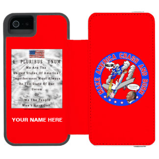Make America Crash & Burn Incipio Watson™ iPhone 5 Wallet Case