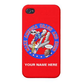 Make America Crash & Burn iPhone 4/4S Cases