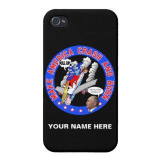 Make America Crash & Burn iPhone 4/4S Cover