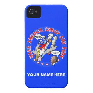 Make America Crash & Burn iPhone 4 Case