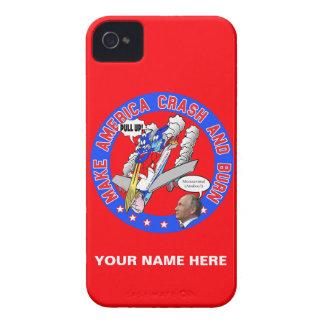 Make America Crash & Burn iPhone 4 Case-Mate Cases