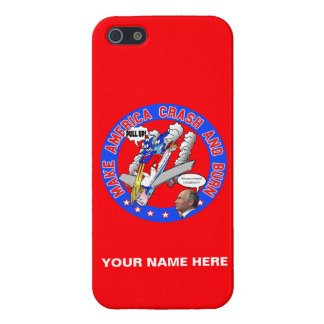 Make America Crash & Burn iPhone 5 Case