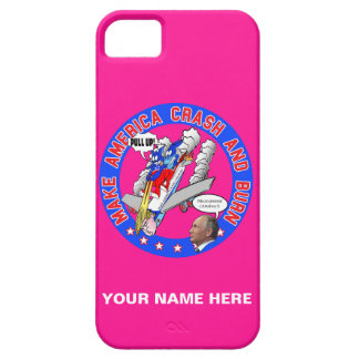 Make America Crash & Burn iPhone 5 Cover