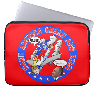 Make America Crash & Burn Laptop Sleeve