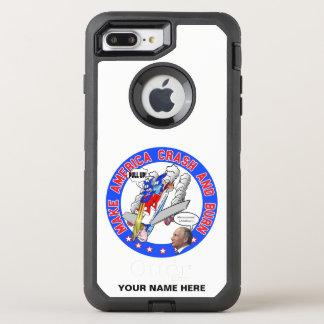Make America Crash & Burn OtterBox Defender iPhone 8 Plus/7 Plus Case