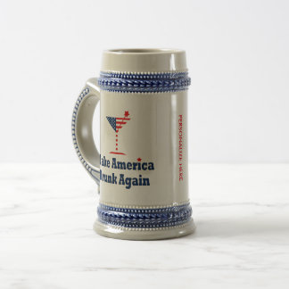 MAKE AMERICA DRUNK AGAIN BEER STEIN