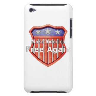 Make America Free Again Barely There iPod Cases