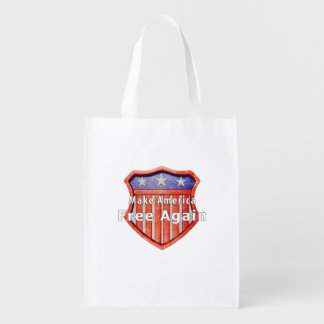Make America Free Again Reusable Grocery Bag