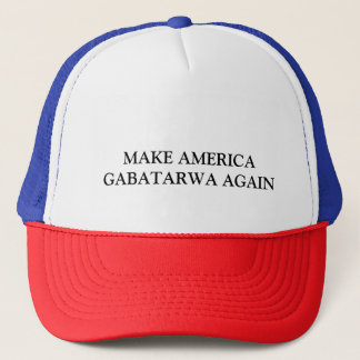 MAKE AMERICA GABATARWA AGAIN TRUCKER HAT