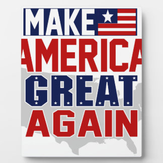 make america great again mug 1 plaque