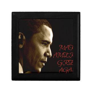 MAKE AMERICA GREAT AGAIN OBAMA GIFT BOX