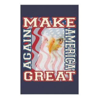 make america great again stationery