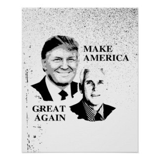 Make America Great Again with Trump Pence - -  Poster