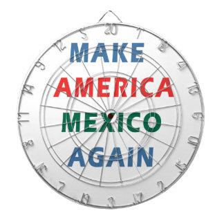 MAKE AMERICA MEXICO AGAIN DARTBOARD