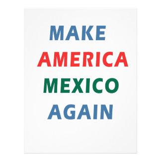 MAKE AMERICA MEXICO AGAIN LETTERHEAD