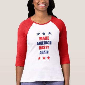 Make America Nasty Again Women's 3/4 Sleeve Shirt