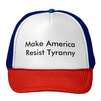 Make America Resist Tyranny Trucker Hat