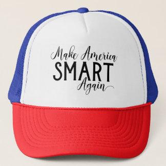 Make America Smart Again Anti-Trump Resistance Trucker Hat