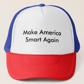 Make America Smart Again Trucker Hat