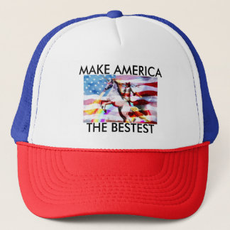 Make America The Bestest Trucker Hat