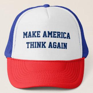 Make America Think Again - Custom Baseball Cap