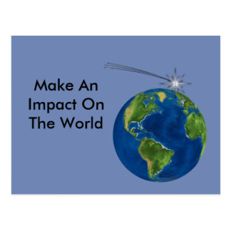 Make An Impact Postcard