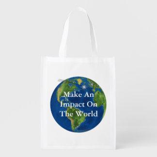 Make An Impact Reusable Grocery Bag