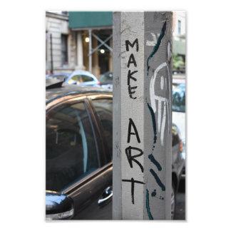 MAKE ART New York Graffiti Street Photography NYC Photo Print
