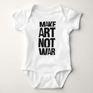MAKE ART NOT WAR SHIRT