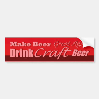 Make Beer Great Again 4 Bumper Sticker