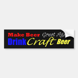 Make Beer Great Again Bumper Sticker
