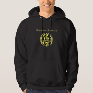 Make Beer Not War Hoodie